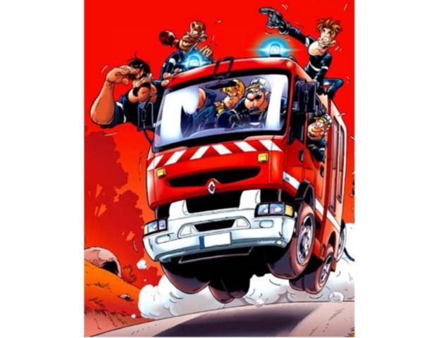 Les pompiers dans - 12 - Les pompiers pompiers