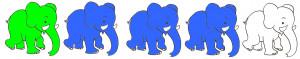 Les éléphants dans - 18 - Les éléphants éléphants-300x59