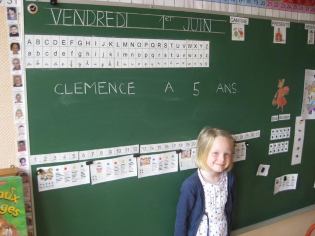 L'anniversaire de CLEMENCE dans - CLEMENCE IMG_4674